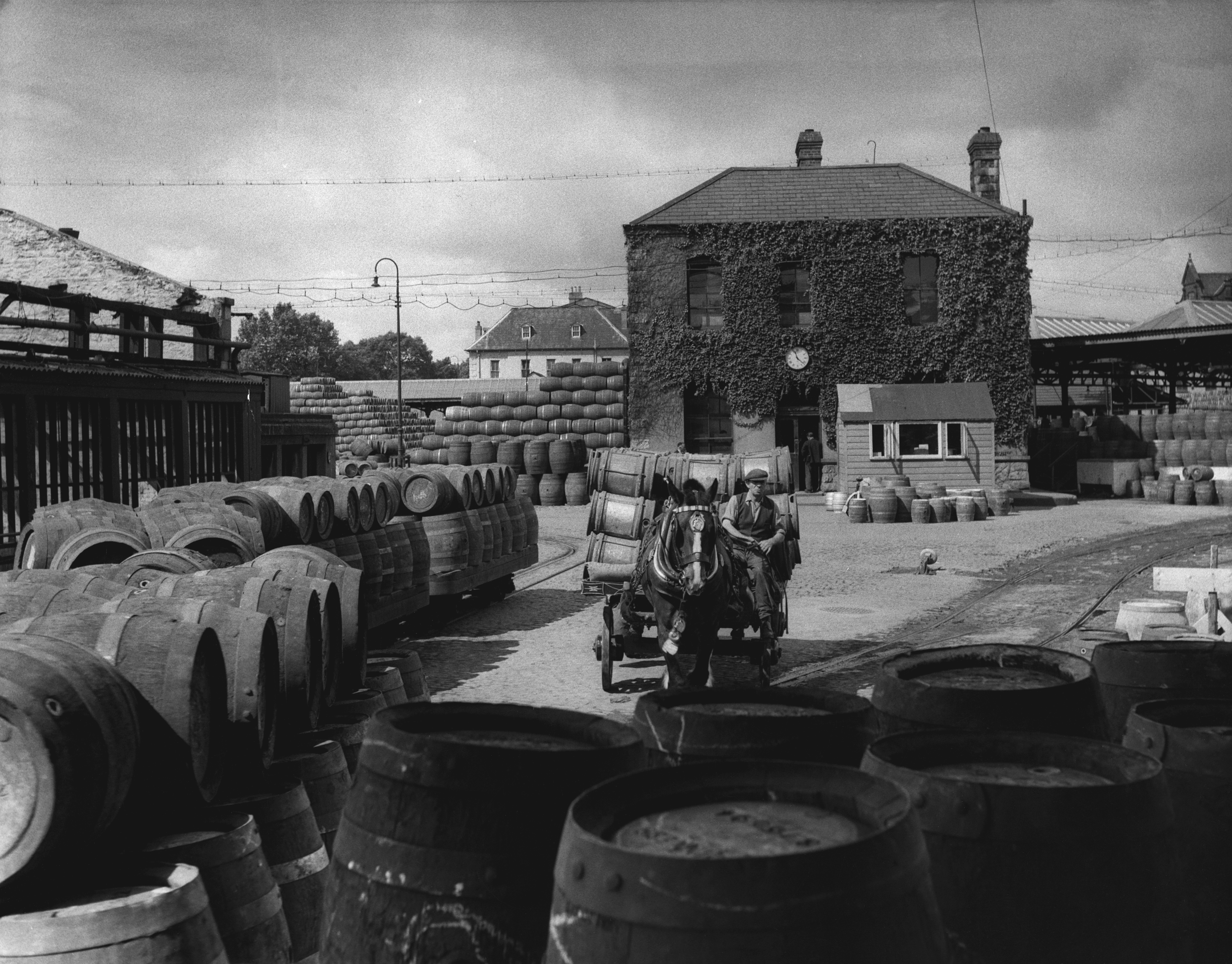 Cooperage Yard at Guinness Brewery, Dublin