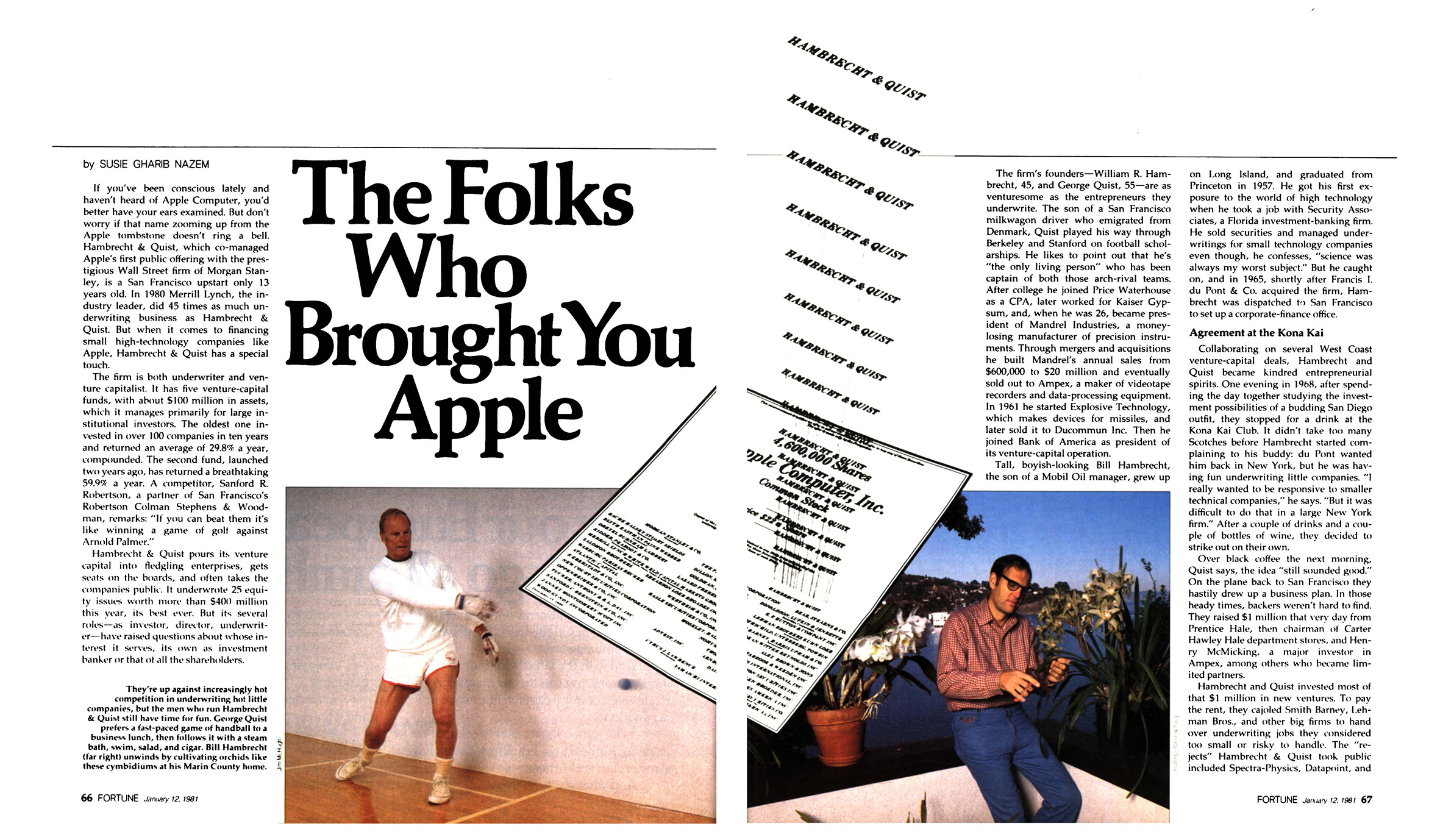 The Folks Who Brought You Apple (Fortune, 1981) | Fortune