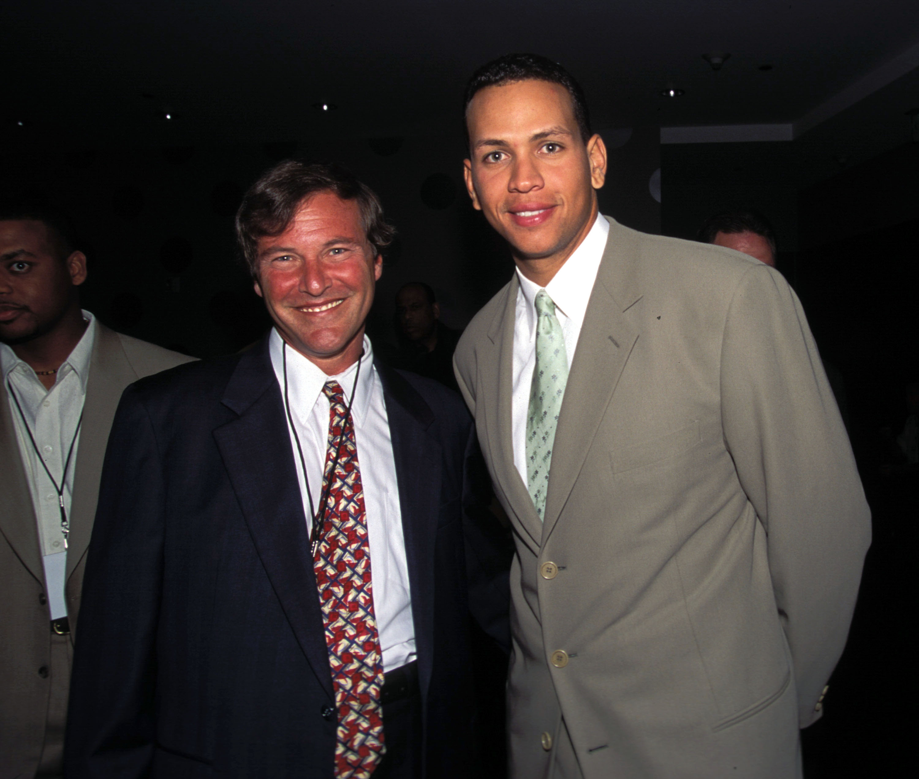 9 July 2001: Leigh Steinberg & Alex Rodriguez at the Assante Sports All-Star Party 2001 Hosted by Jeffrey Moorad in Seattle, Washington.Mandatory Credit: Mitchell Haddad/Wireimage/Icon SMI