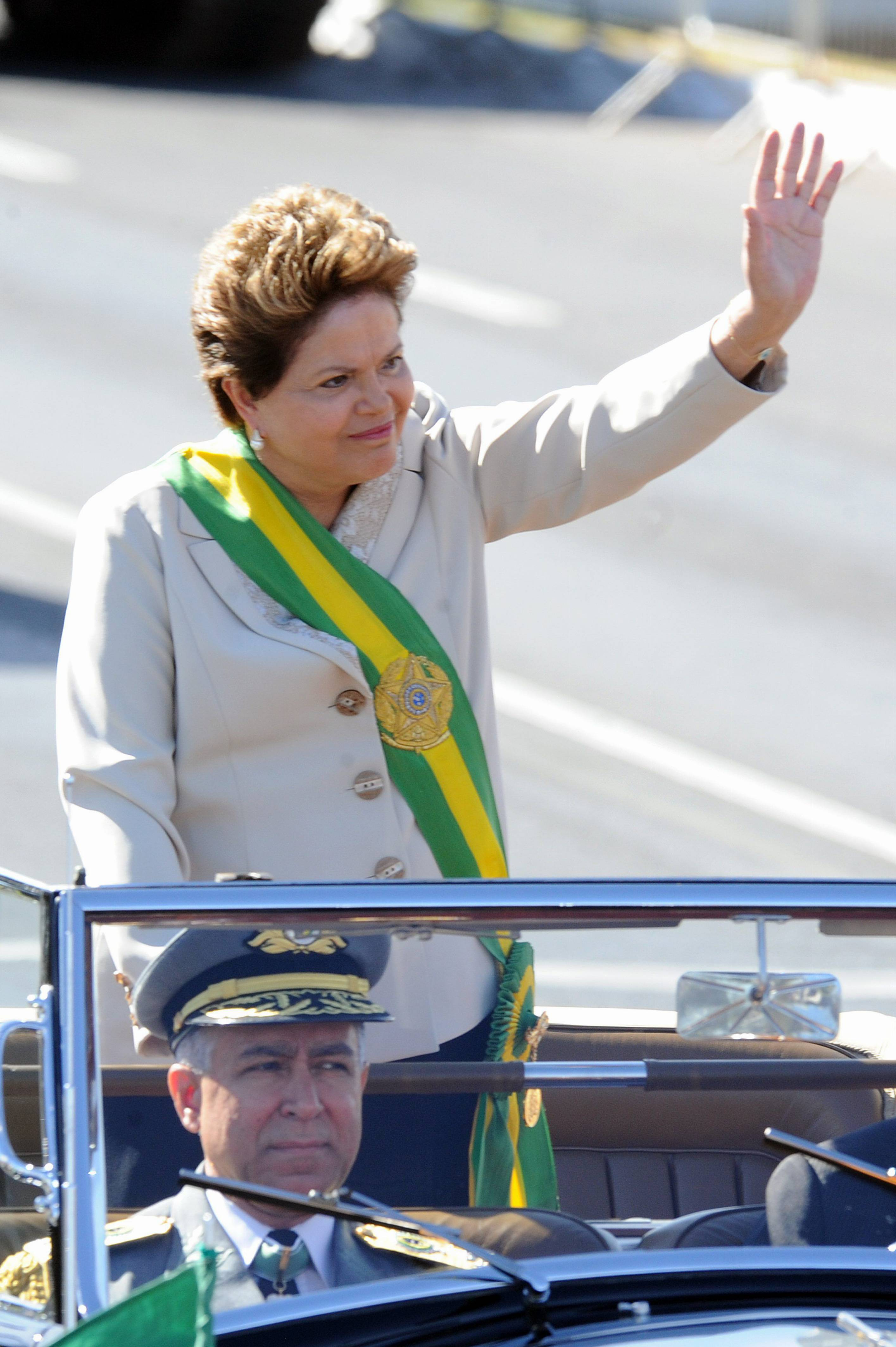 Current Brazilian President Dilma Rousseff.