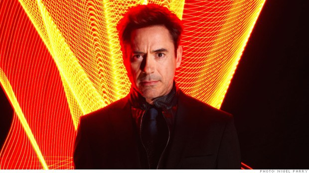 The actor Robert Downey Jr., photographed for Fortune in December 2013.