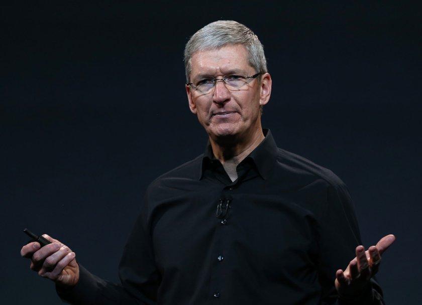 Apple's CEO Tim Cook.
