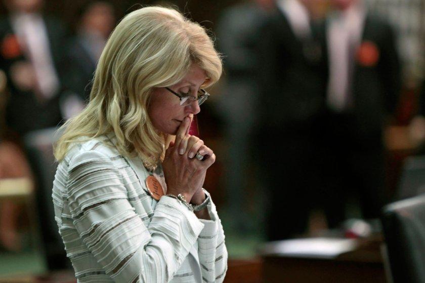 Texas gubernatorial candidate Wendy Davis