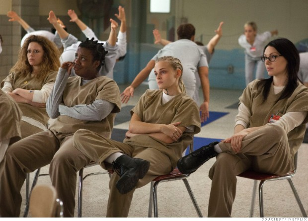 A scene from Netflix's 'Orange is the New Black.'