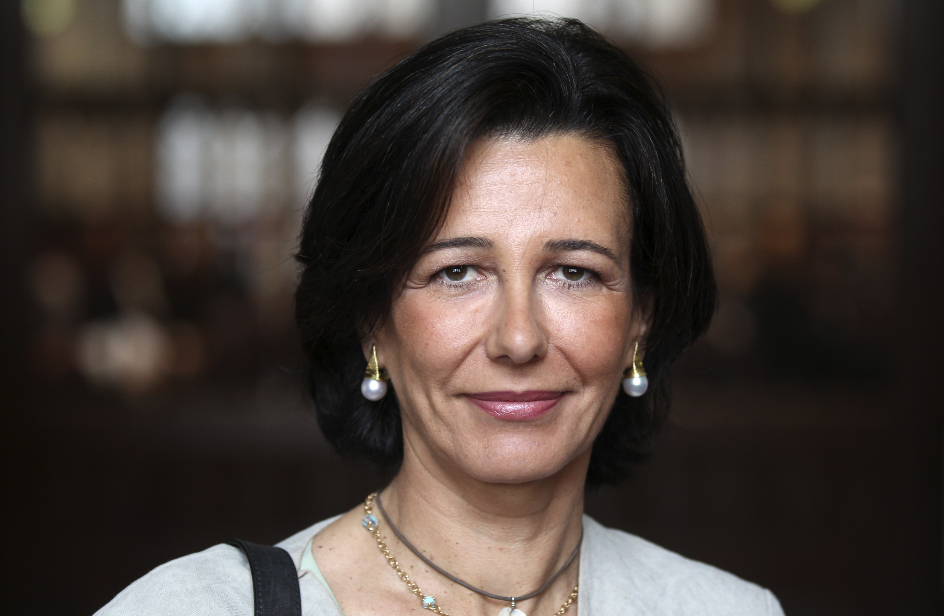 CEO of Santander UK Plc Ana Patricia Botin