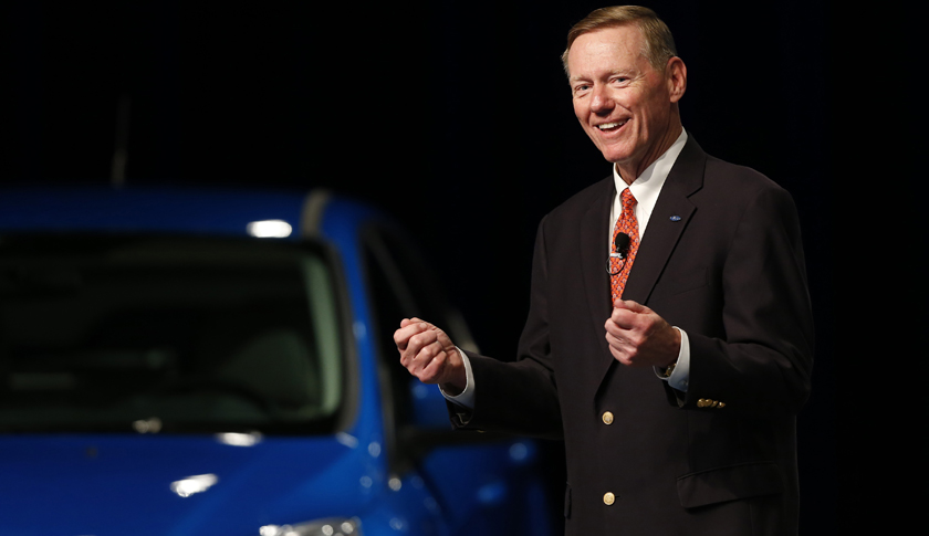 Outgoing Ford Chief Executive Officer Alan Mulally Interview