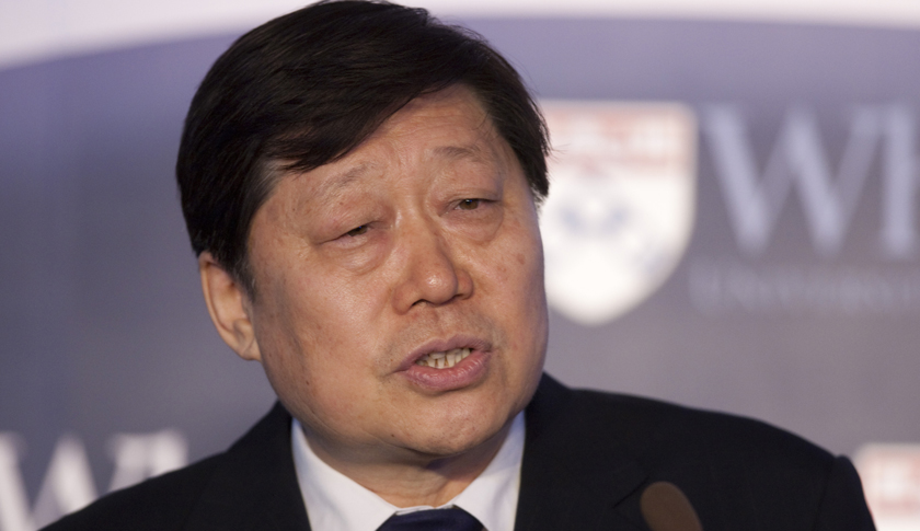 Zhang Ruimin, chairman and chief executive officer of Haier