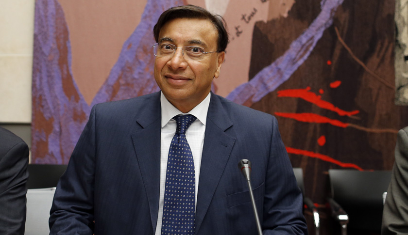 ArcelorMittal Chairman Lakshmi Mittal attends a parliamentary commission hearing at the National Assembly in Paris