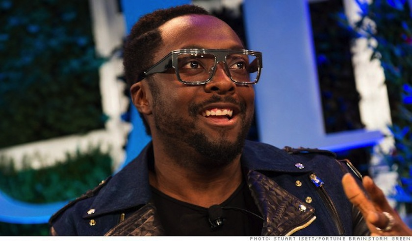 Will.i.am at Fortune's Brainstorm Green conference in 2013