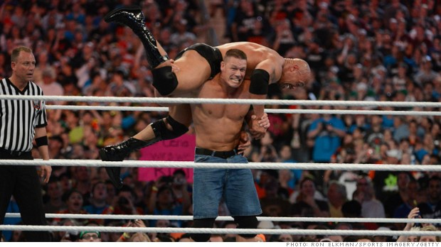 World Wrestling Entertainment suffers a bad day in the ring