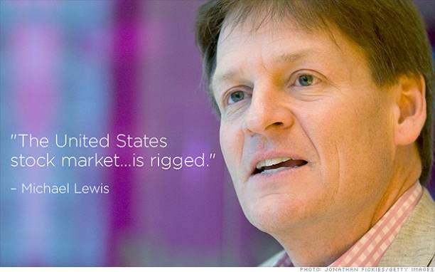 Company featured in Michael Lewis' latest book is seeking funding, according to a report.