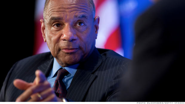 American Express CEO Kenneth Chenault in 2013