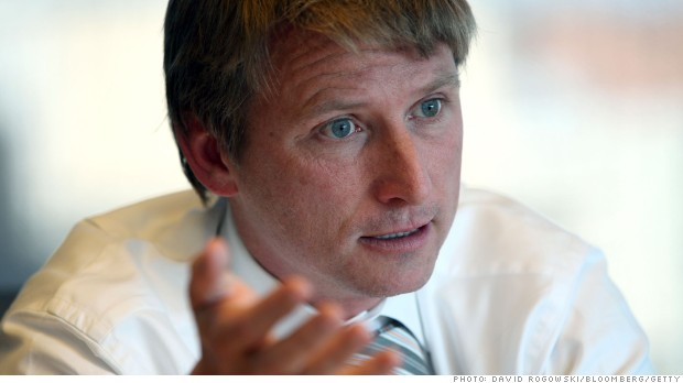 "Jonathan Bush, co-founder chairman and chief executive officer of Athenahealth Inc., speaks during an interviewed in Washington, D.C., U.S., on Wednesday, Oct. 5, 2011. Bush said the software company's new service allowing doctors and hospitals to exchange information is a ""breakthrough opportunity."" Photographer: David Rogowski/Bloomberg *** Local Caption *** Jonathan Bush"