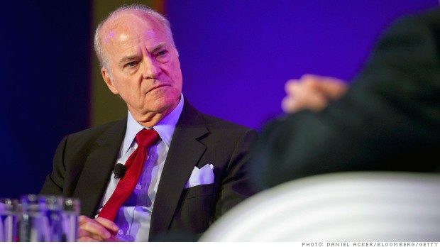 Henry Kravis, co-chief executive officer of KKR & Co. LP, speaks at the Bloomberg Year Ahead: 2014 conference in Chicago, Illinois, U.S., on Wednesday, Nov. 20, 2013. Photographer: Daniel Acker/Bloomberg *** Local Caption *** Henry Kravis