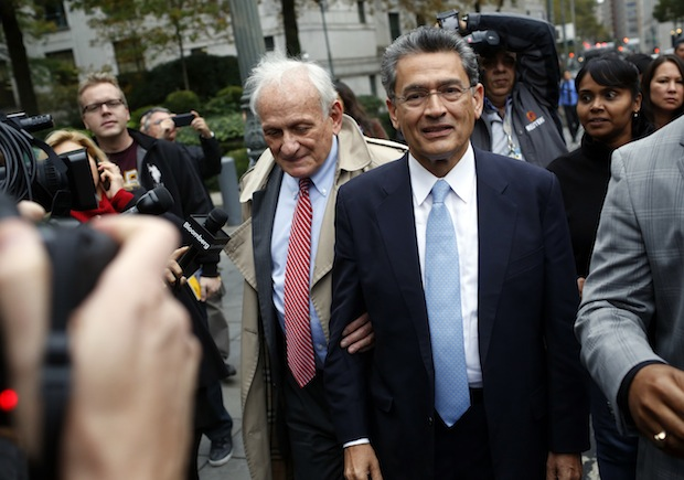 Former Goldman Sachs Board Member Rajat Gupta Sentencing On Insider Trading Charges