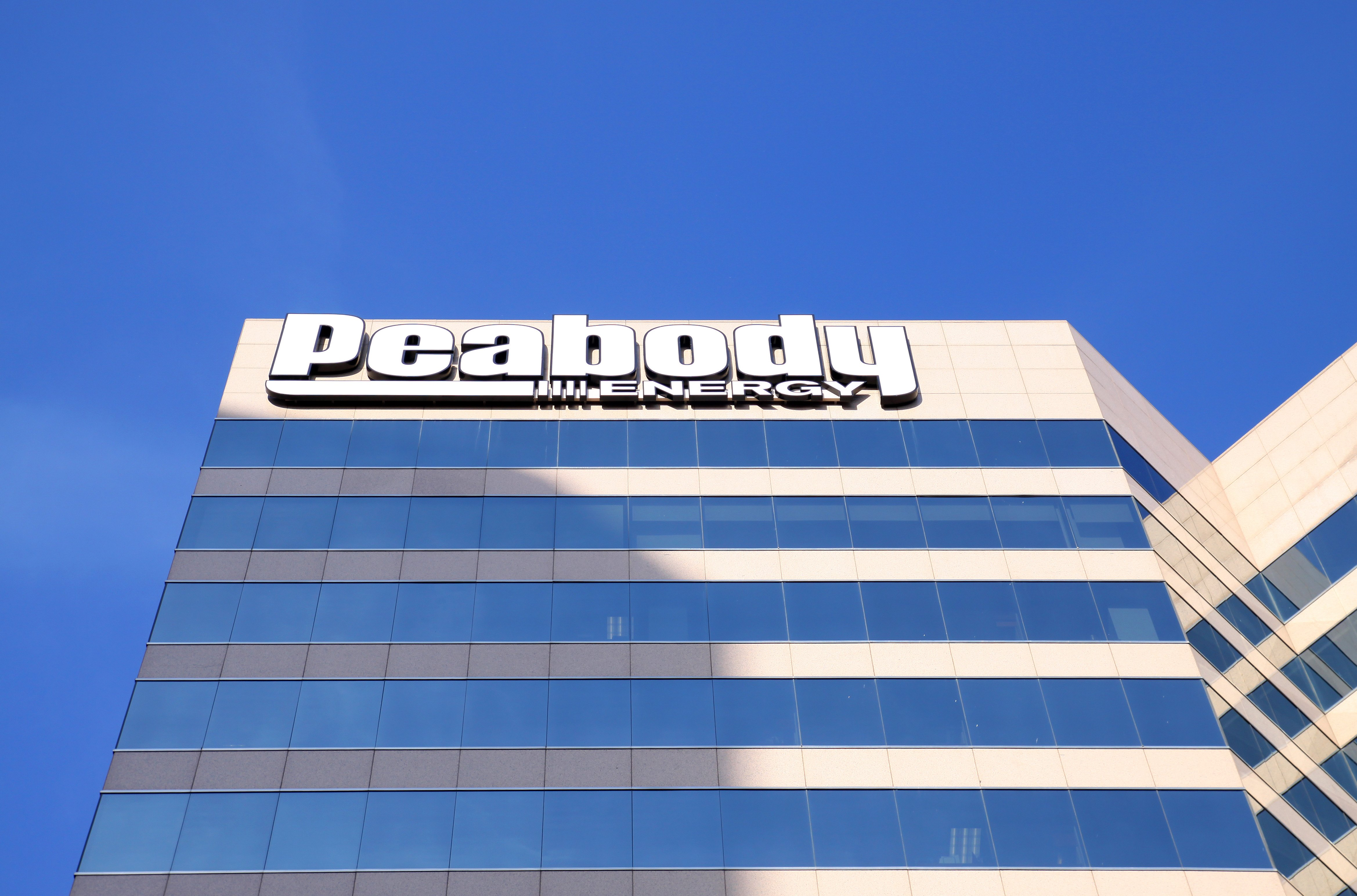 Peabody Energy building in St. Louis