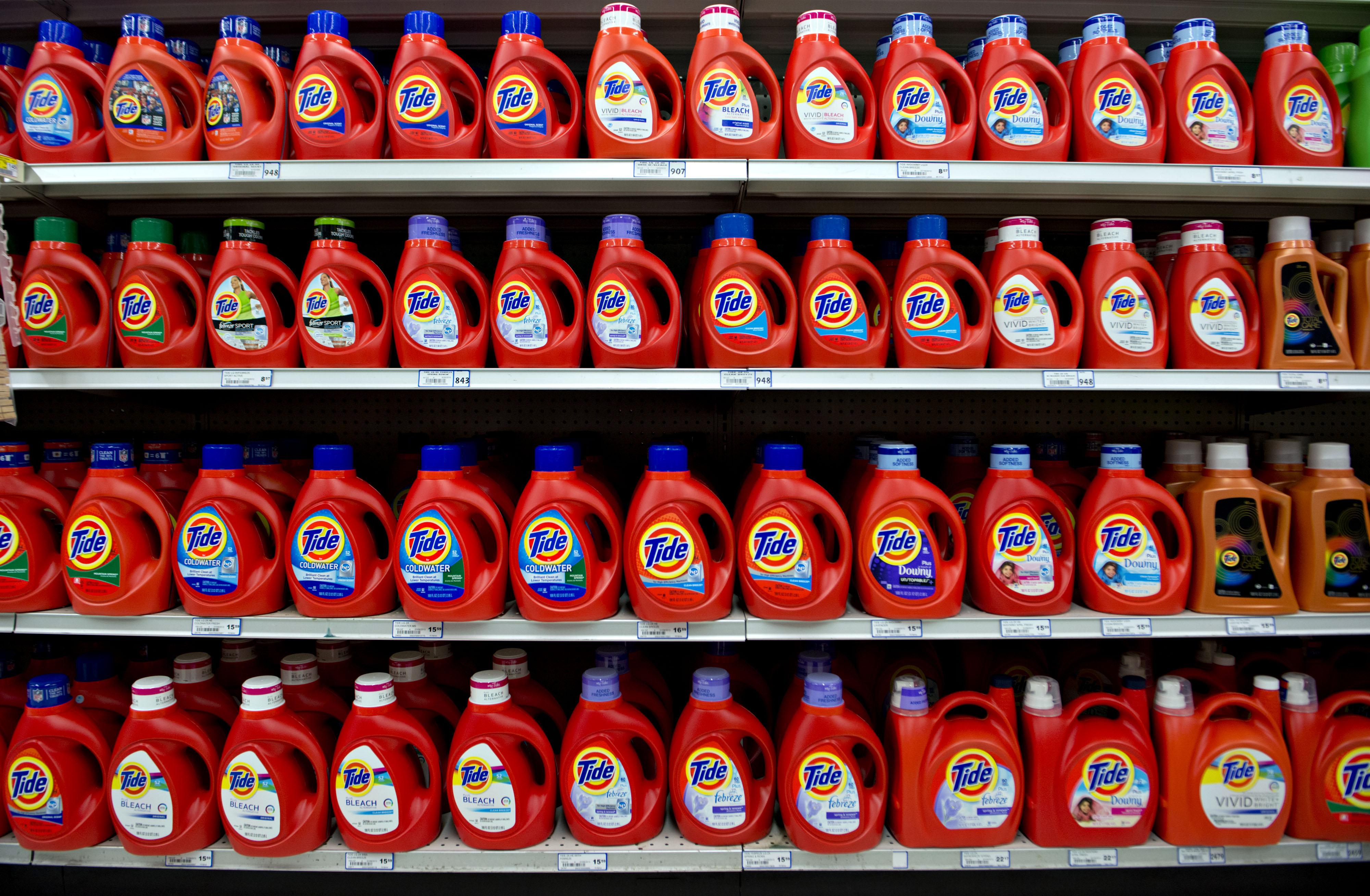 Procter & Gamble's Tide laundry detergent