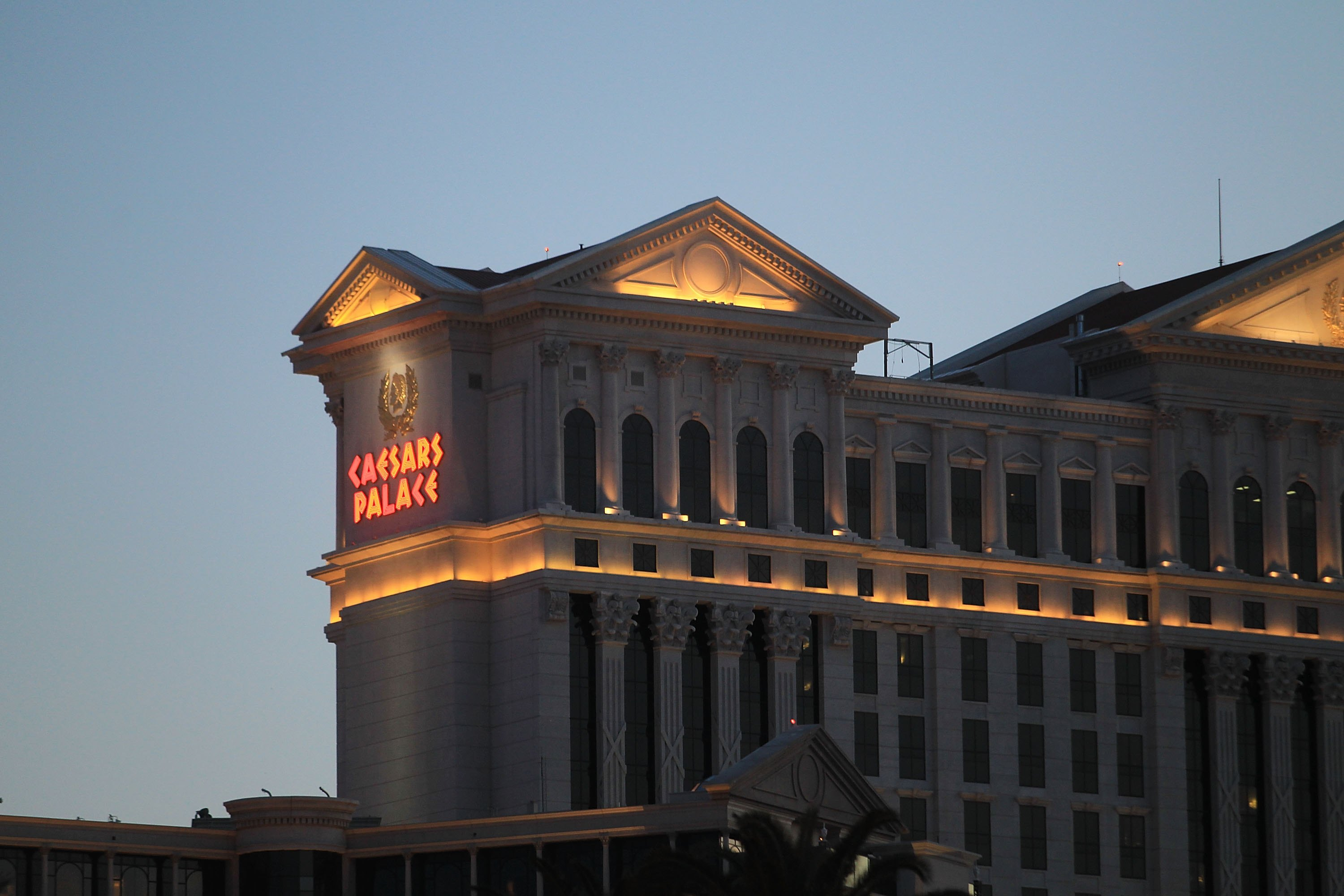 Caesars casino and hotel in Las Vegas.
