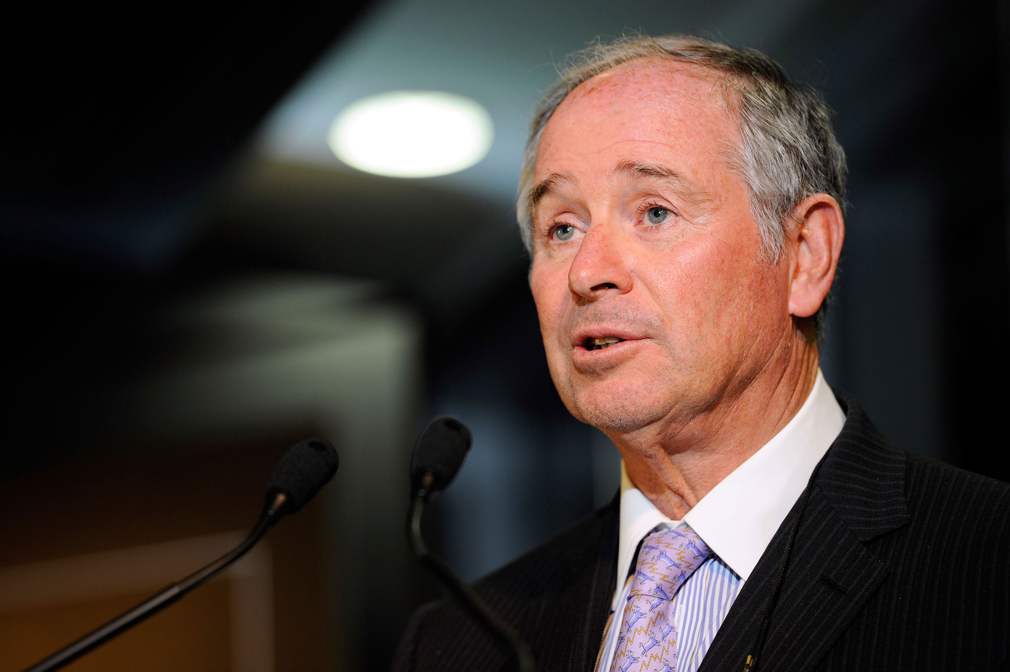Blackstone Group CEO Stephen Schwarzman and CFO Laurence Tosi Attend Opening of Singapore Office