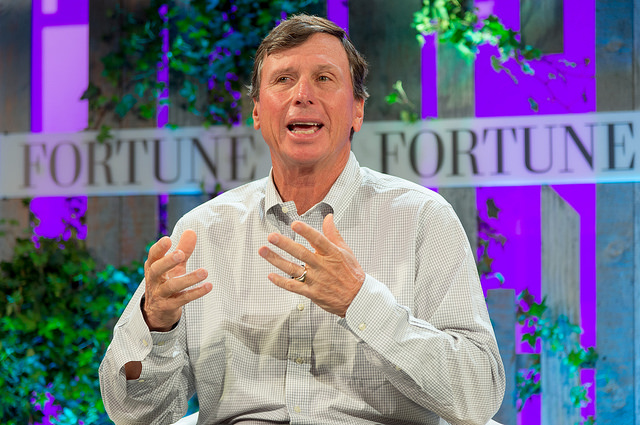 Cox Chairman Jim Kennedy talks at Fortune's Brainstorm Green conference.