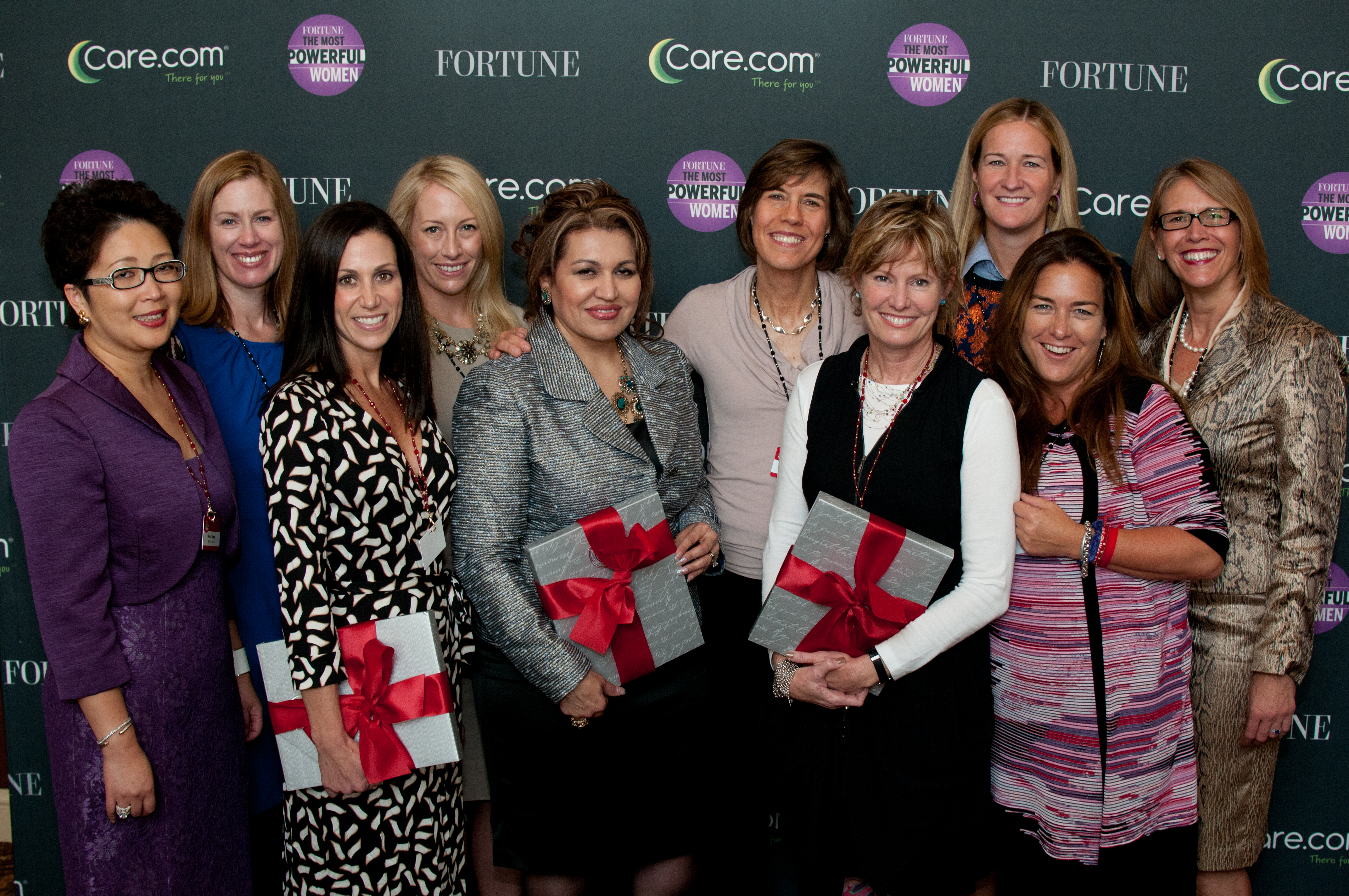The 2013 Fortune Most Powerful Women Entrepreneur winners at last year's Fortune MPW Summit.