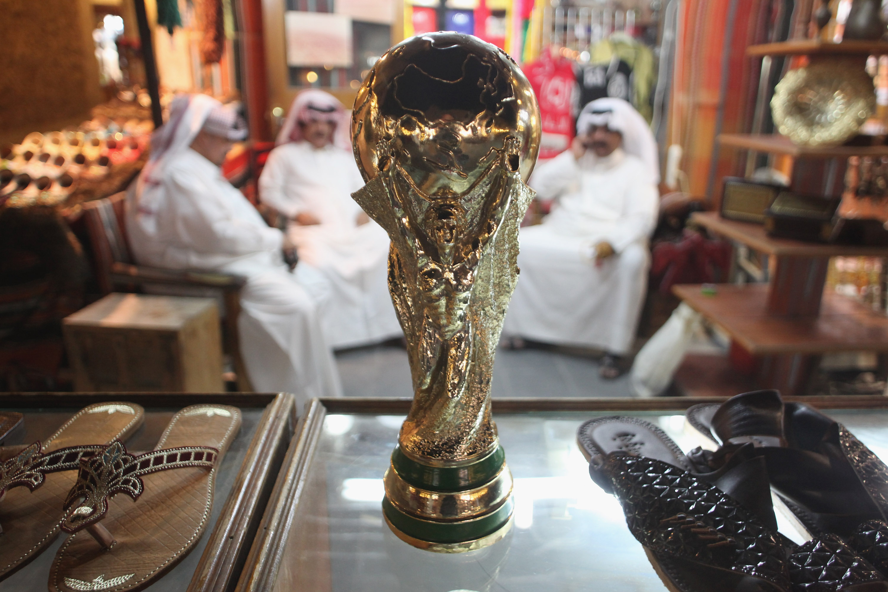 Fifa thinks the 2022 World Cup should be played in air-conditioned stadiums in Qatar, where  the average temperature in June is over 100 degrees.