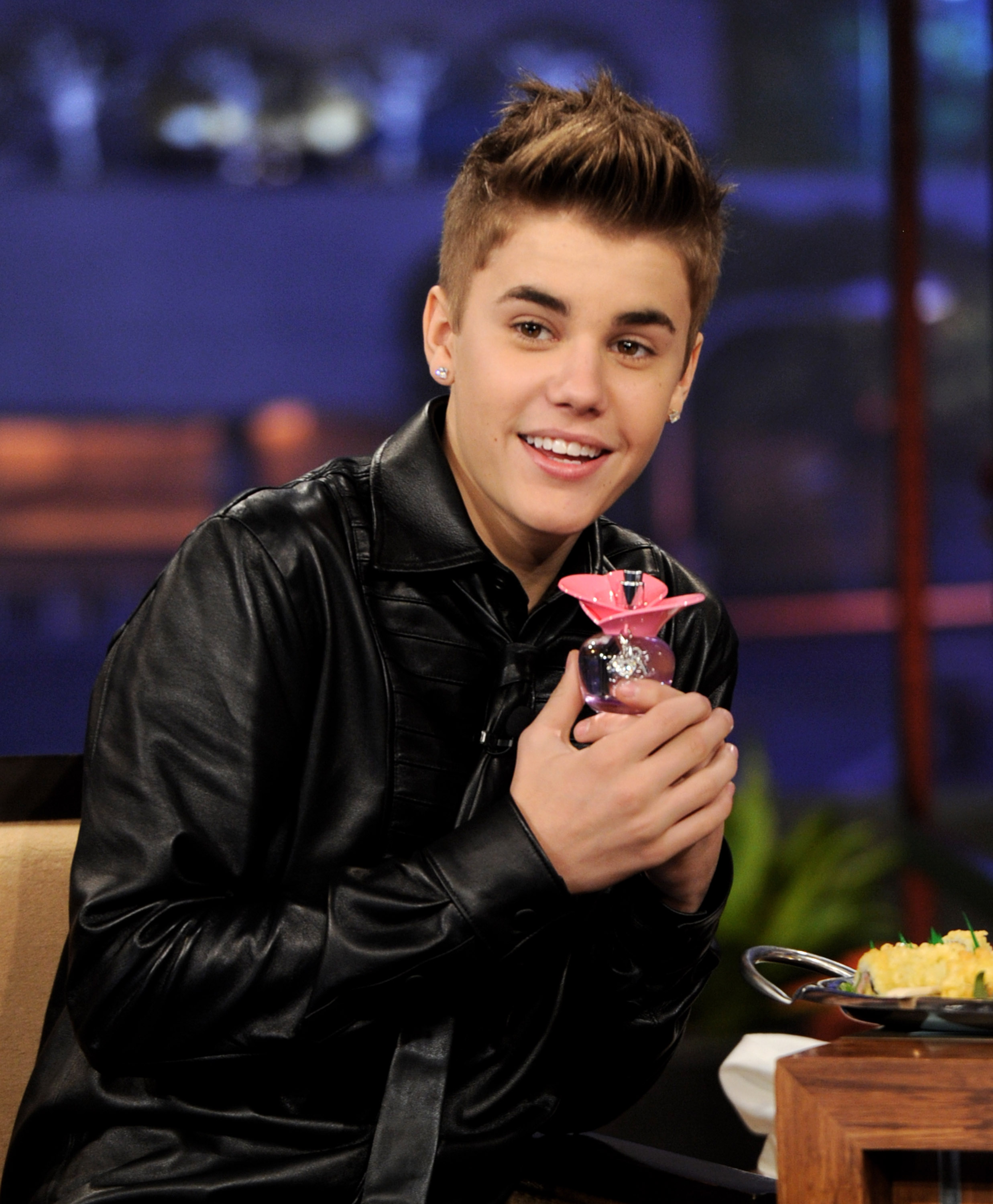"Justin Bieber And David Freese On ""The Tonight Show With Jay Leno"""
