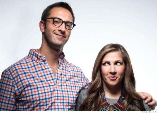 Siblings and entrepreneurs Eric and Arlyn Davich