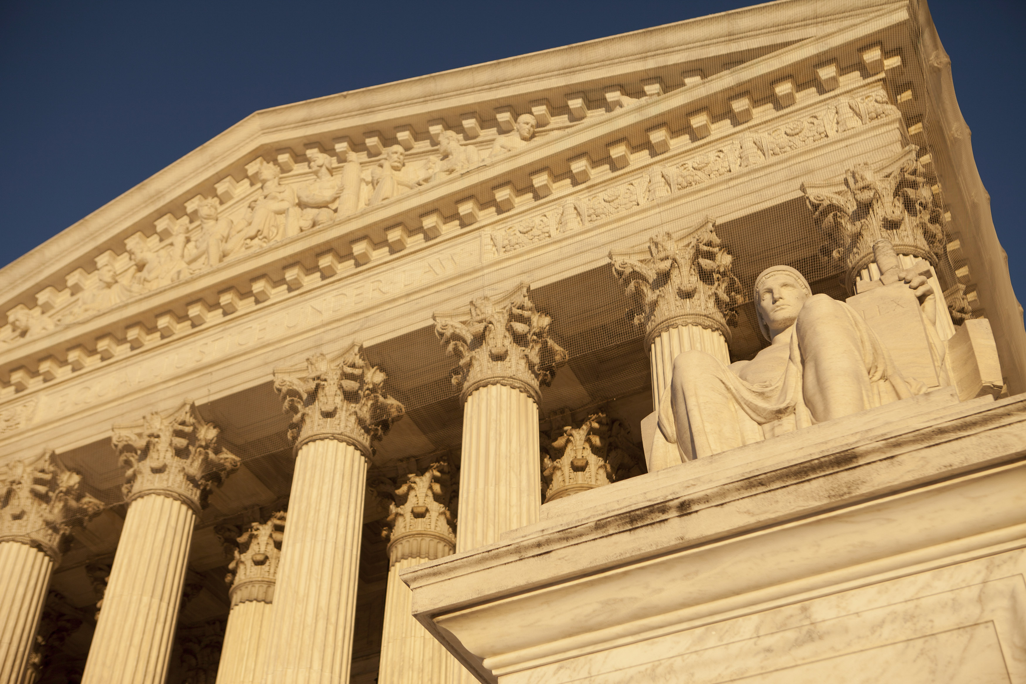 General Views Of The U.S. Supreme Court Building