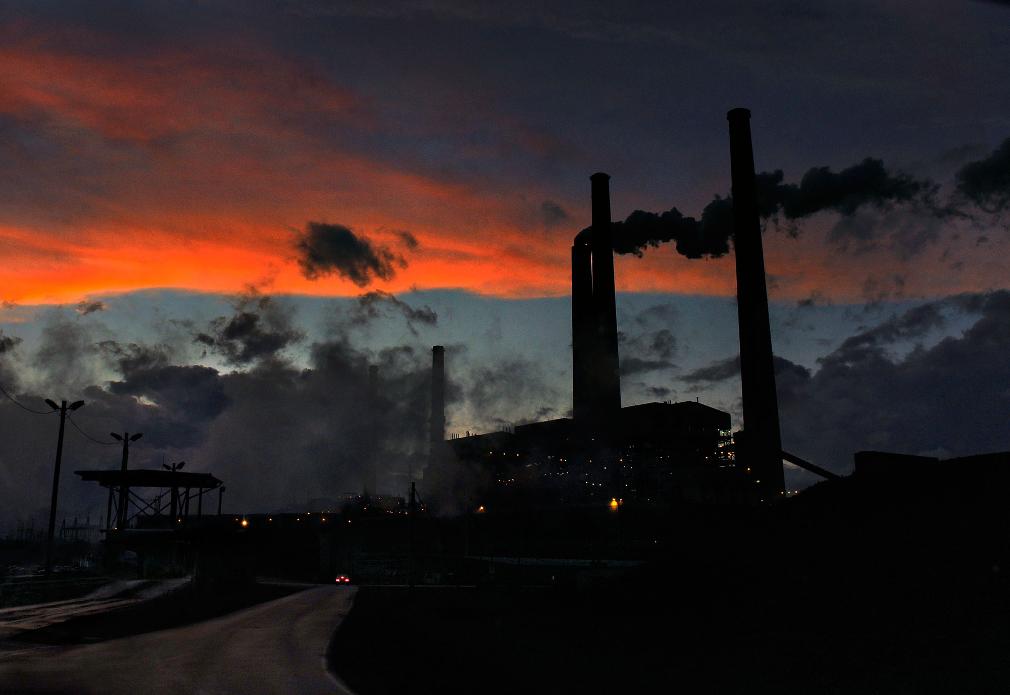 Clean Air Regulations Impact Coal Burning Plants