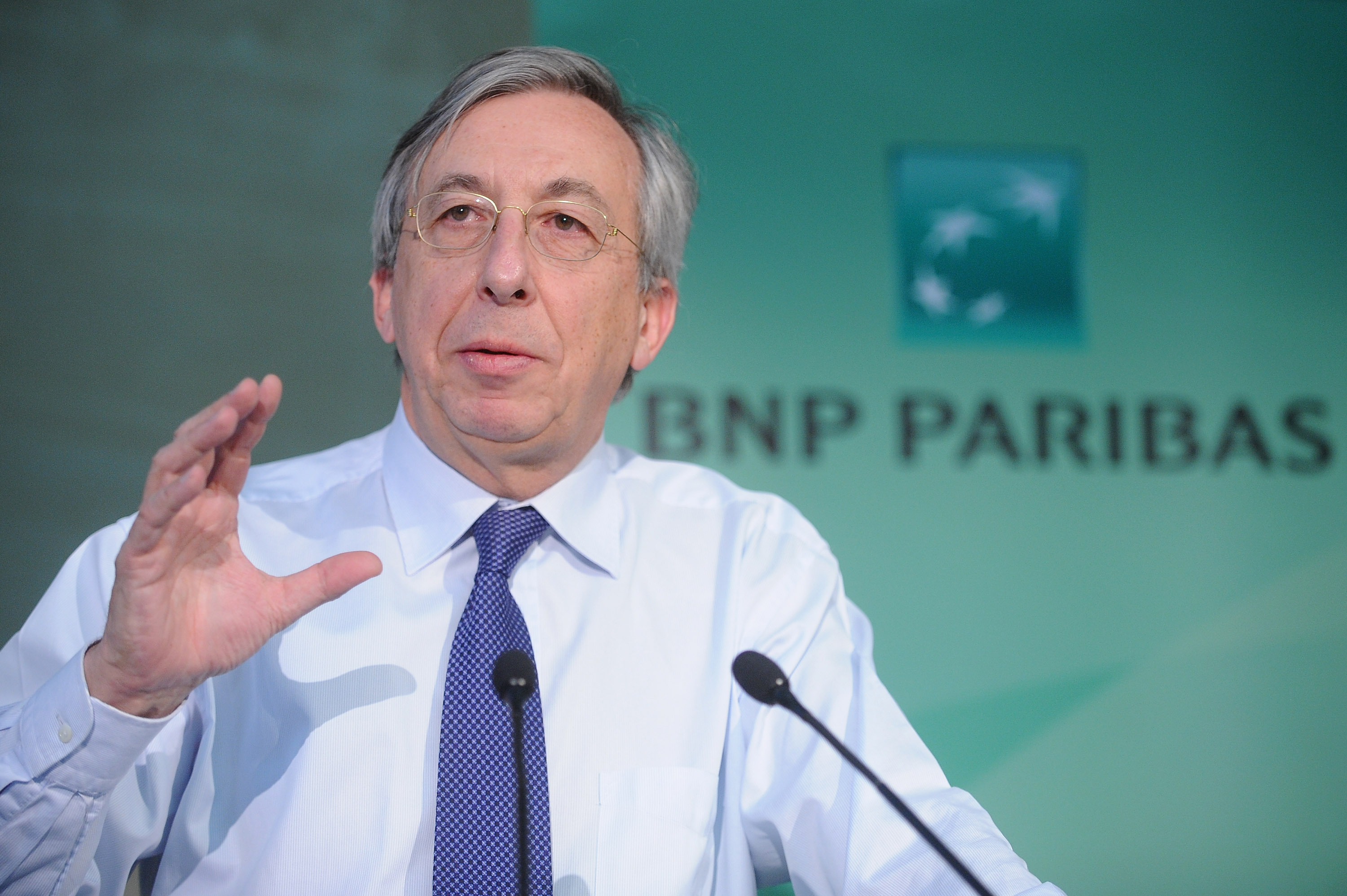 Georges Chodron de Courcel, BNP's chief operating officer, is to step down 'at his own request, under-fire French bank says