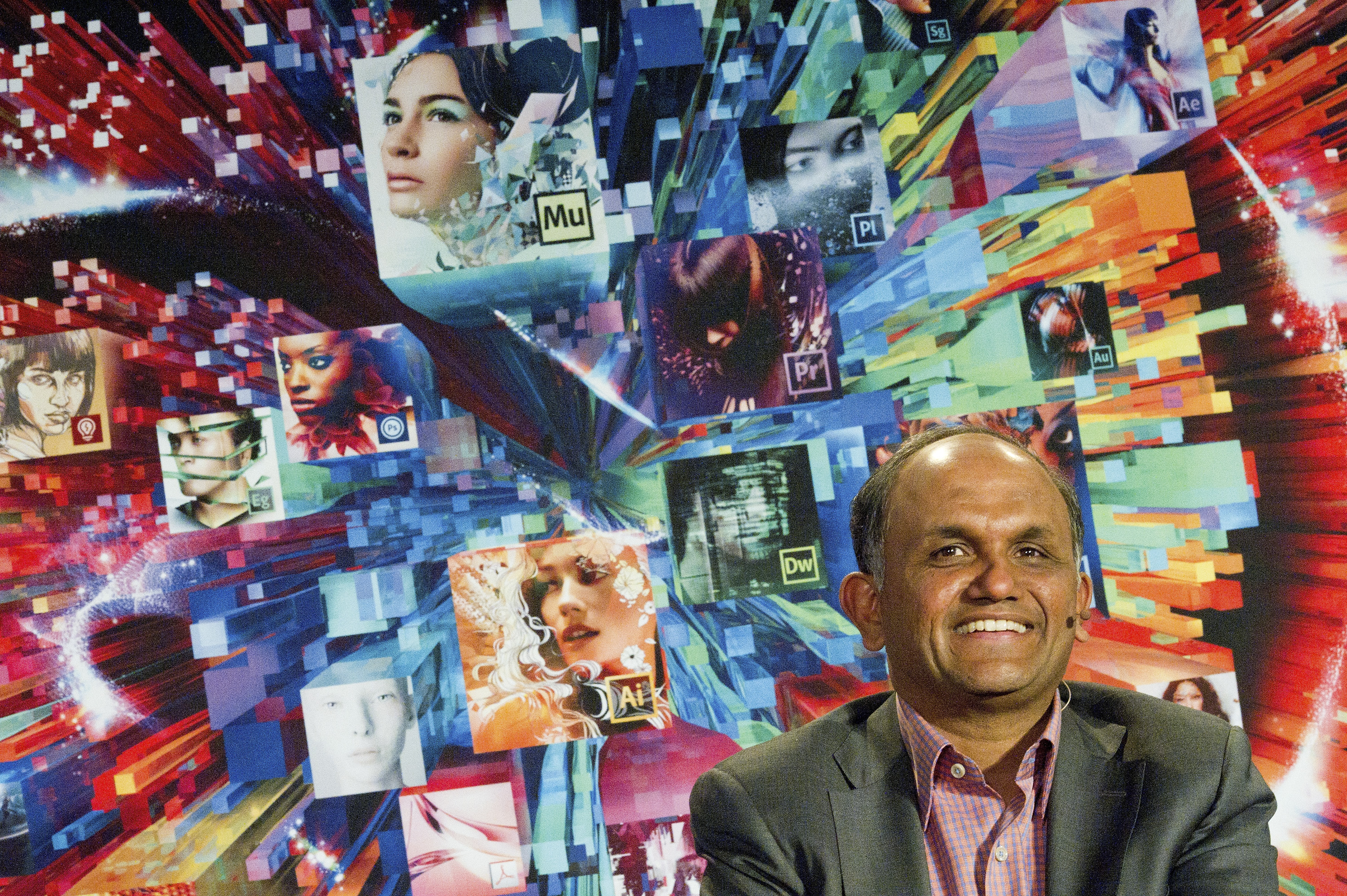 Adobe CEO Shantanu Narayen Launches Creative Suite 6 (CS6)