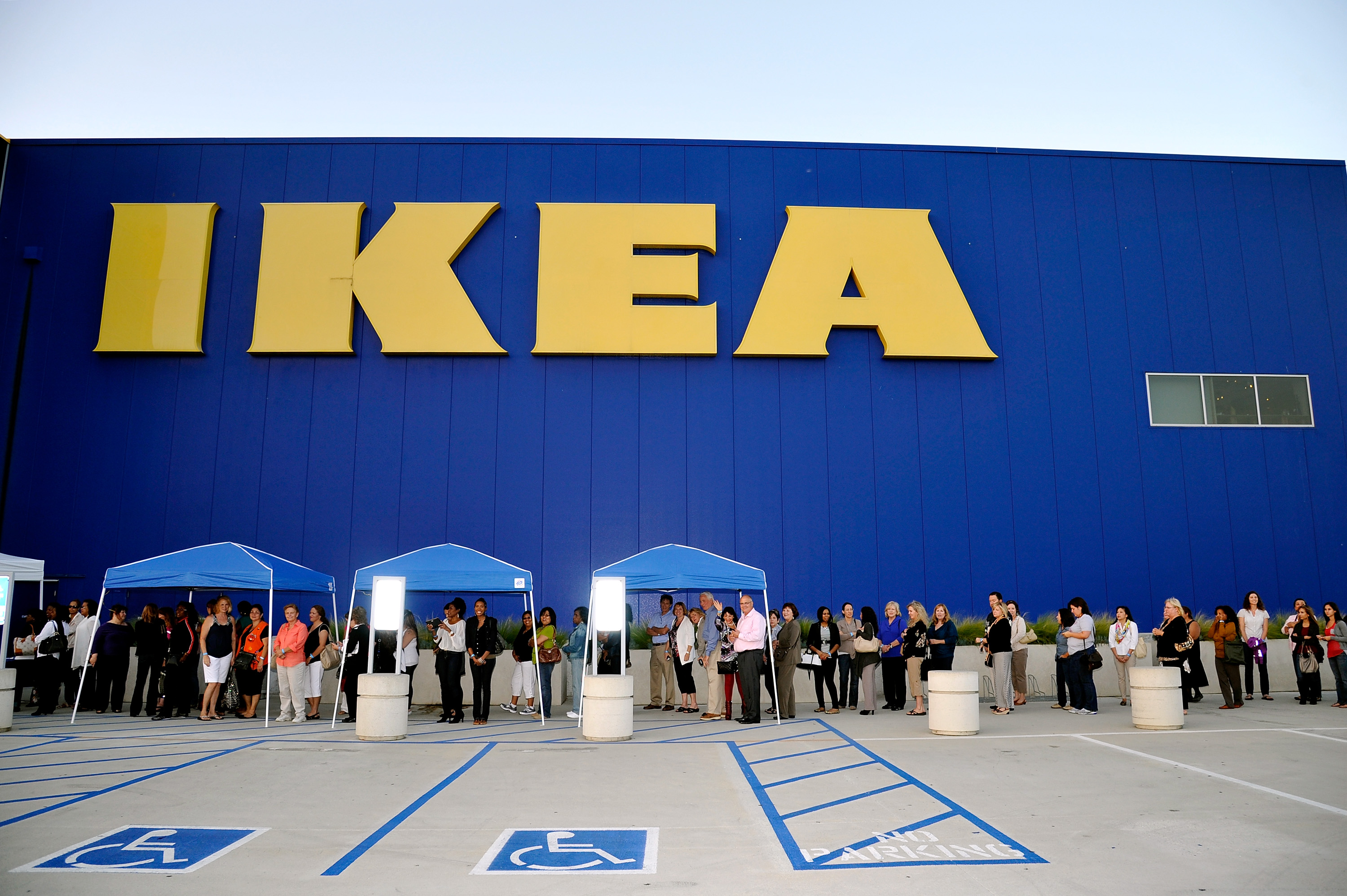 An Ikea store in Covina, Calif.