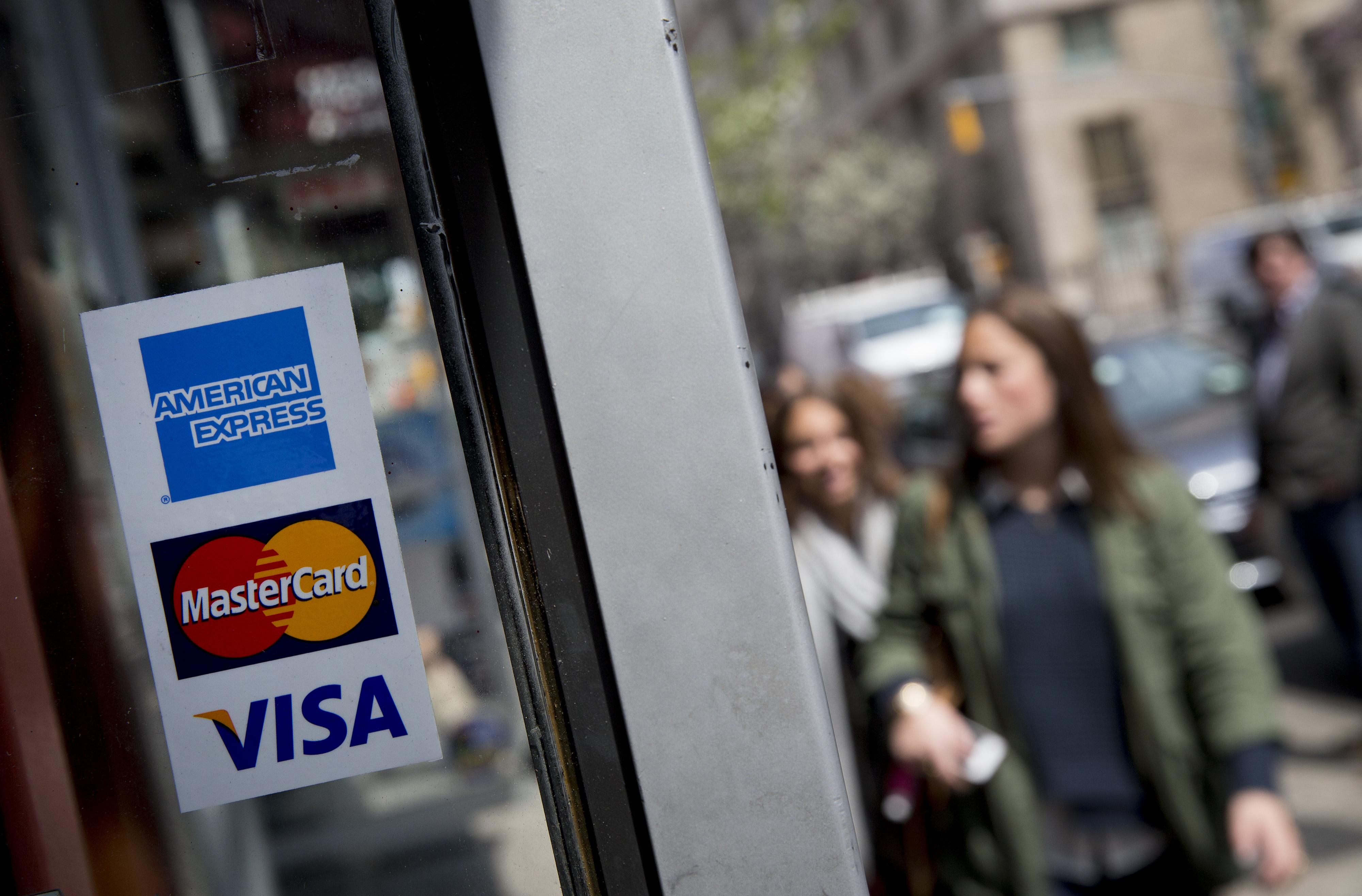 American Express Co. Credit Cards & Signage Ahead Of Earns Figures