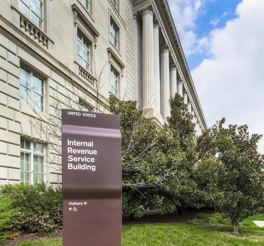 IRS Building in Washington D.C.