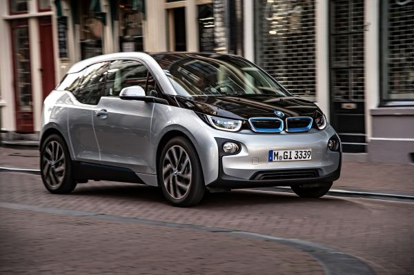 The BMW i3 is designed for city driving and has a range of up to 100 miles per charge.