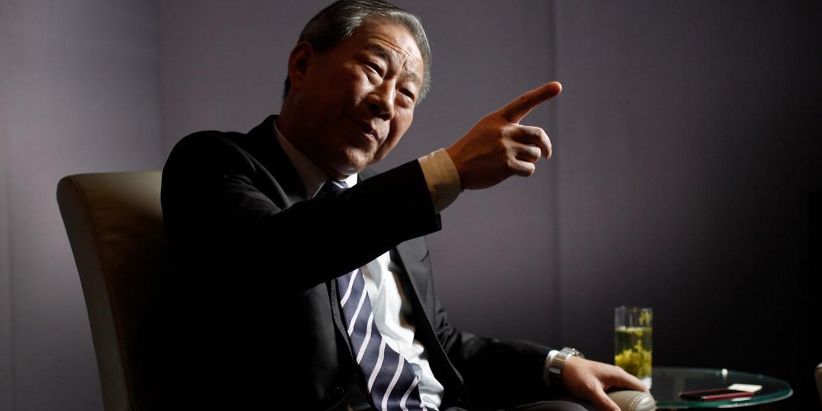 China's baddest billionaire builder