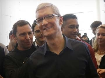 Tim Cook at WWDC 2014.