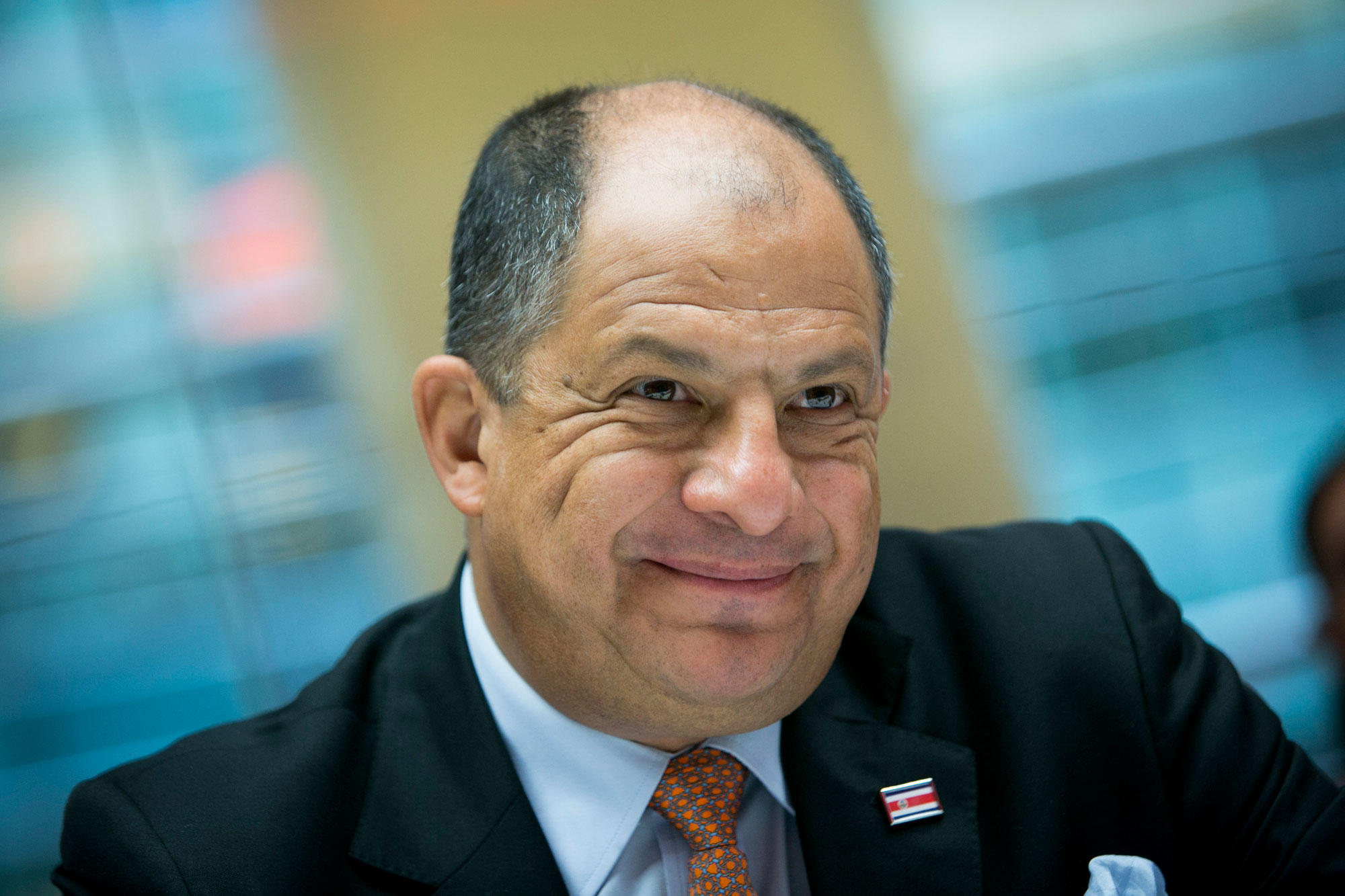 Costa Rica President Luis Guillermo Solis Interview
