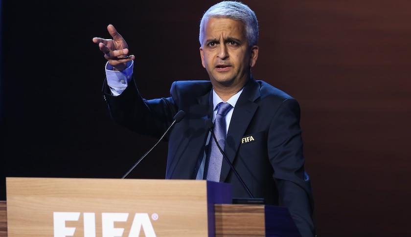 U.S. Soccer Federation President Sunil Gulati