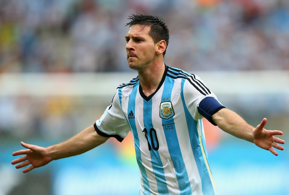 Lionel Messi of Argentina, who has a whopping transfer value of $317.6 million