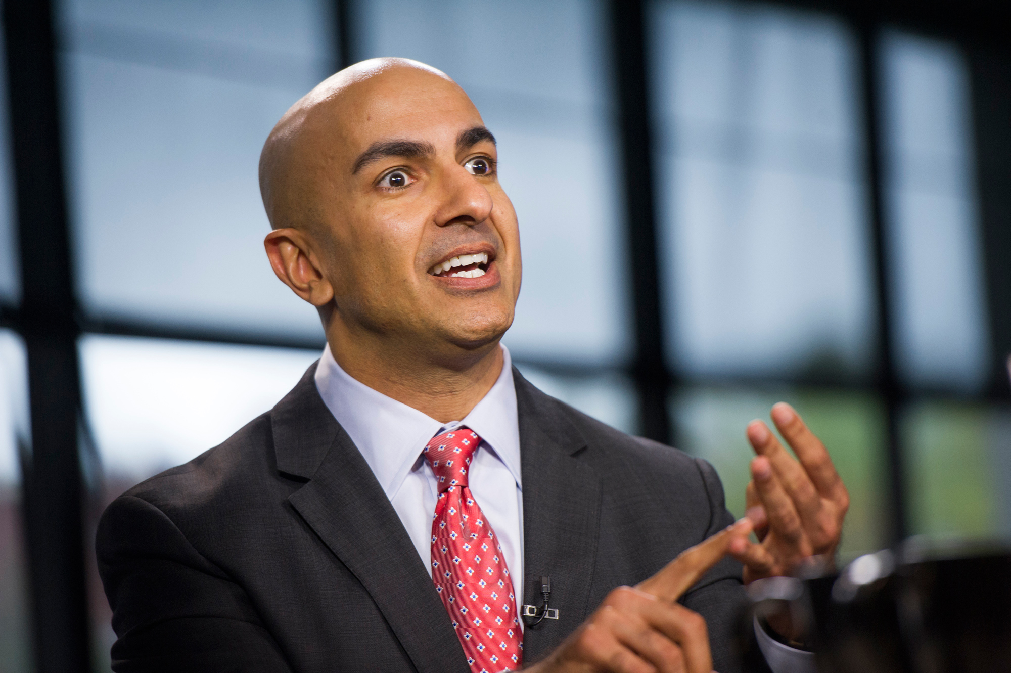 Neel Kashkari, the president of Federal Reserve Bank of Minneapolis.
