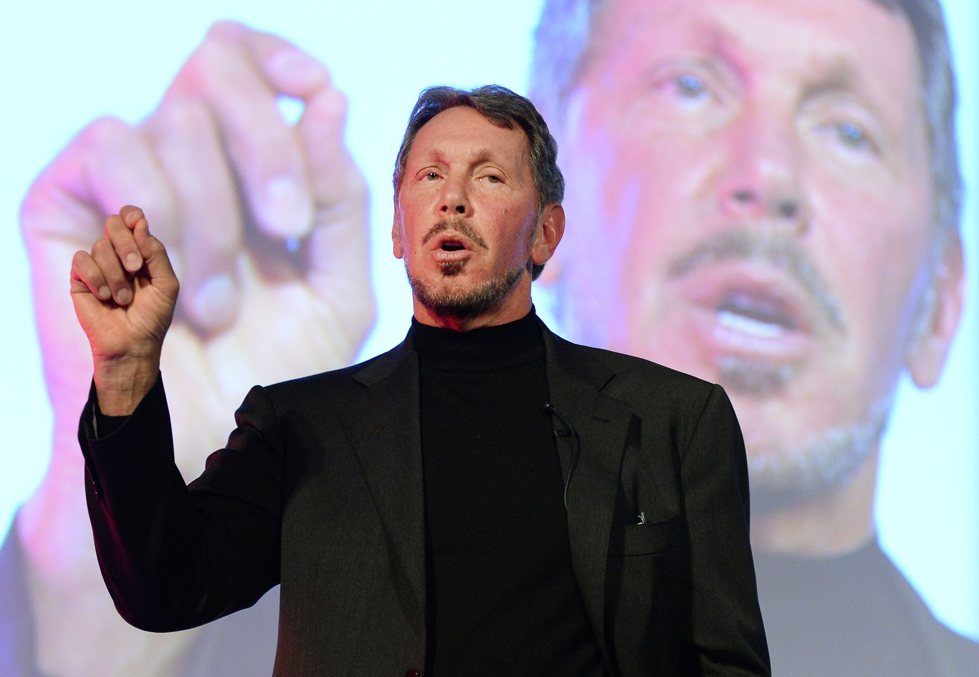 Larry Ellison, chairman and chief technology officer of Oracle.