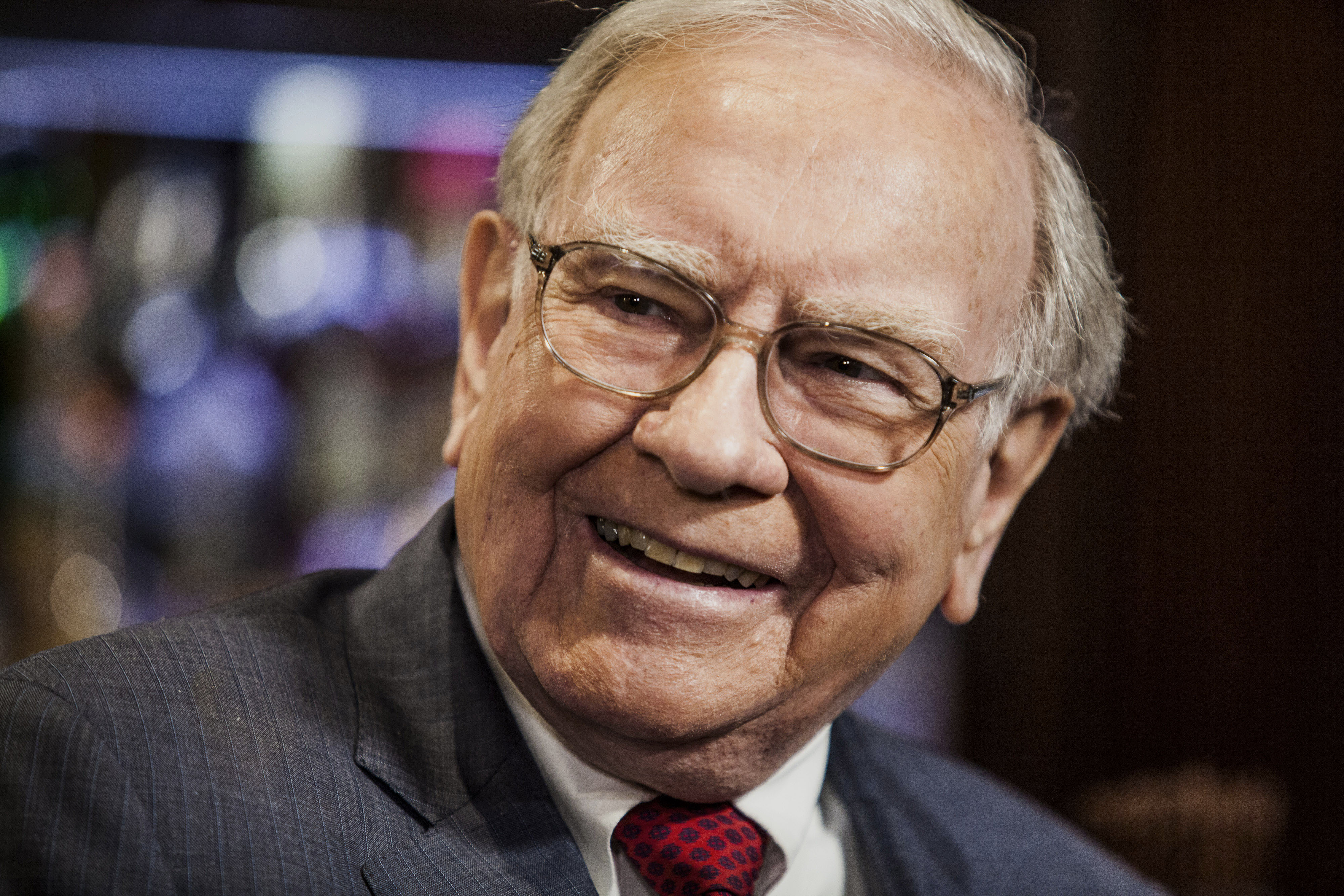 Berkshire Hathaway CEO Warren Buffett is giving away $2.8 billion as part of his annual donation pledge.