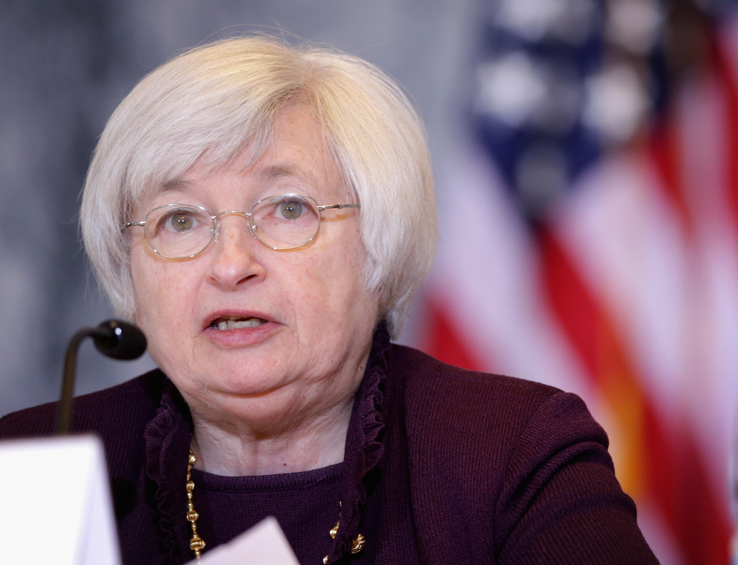 Fed Chair Janet Yellen.