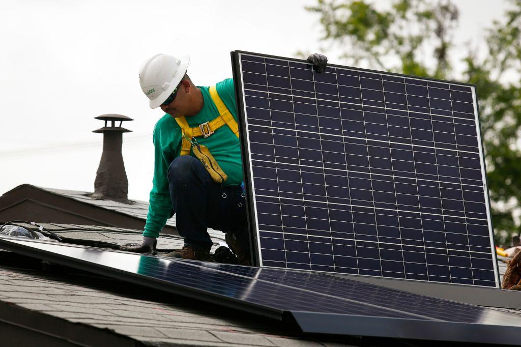 A SolarCity Installation