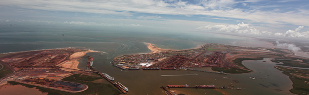 Port Hedland, China's gateway to Australia's natural resources, is as busy as ever