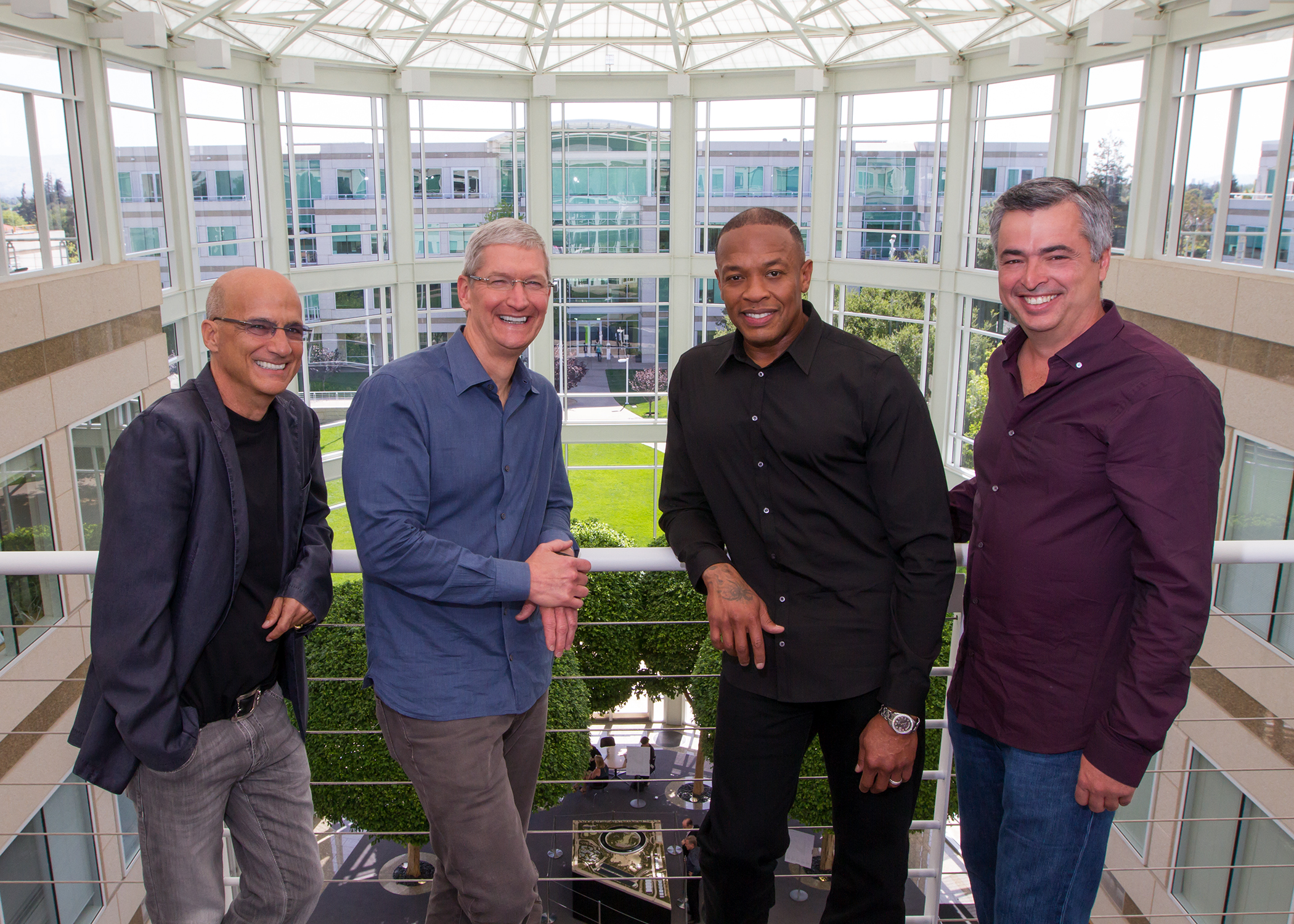 At Apple headquarters in Cupertino, Calif. on May 28, 2014.