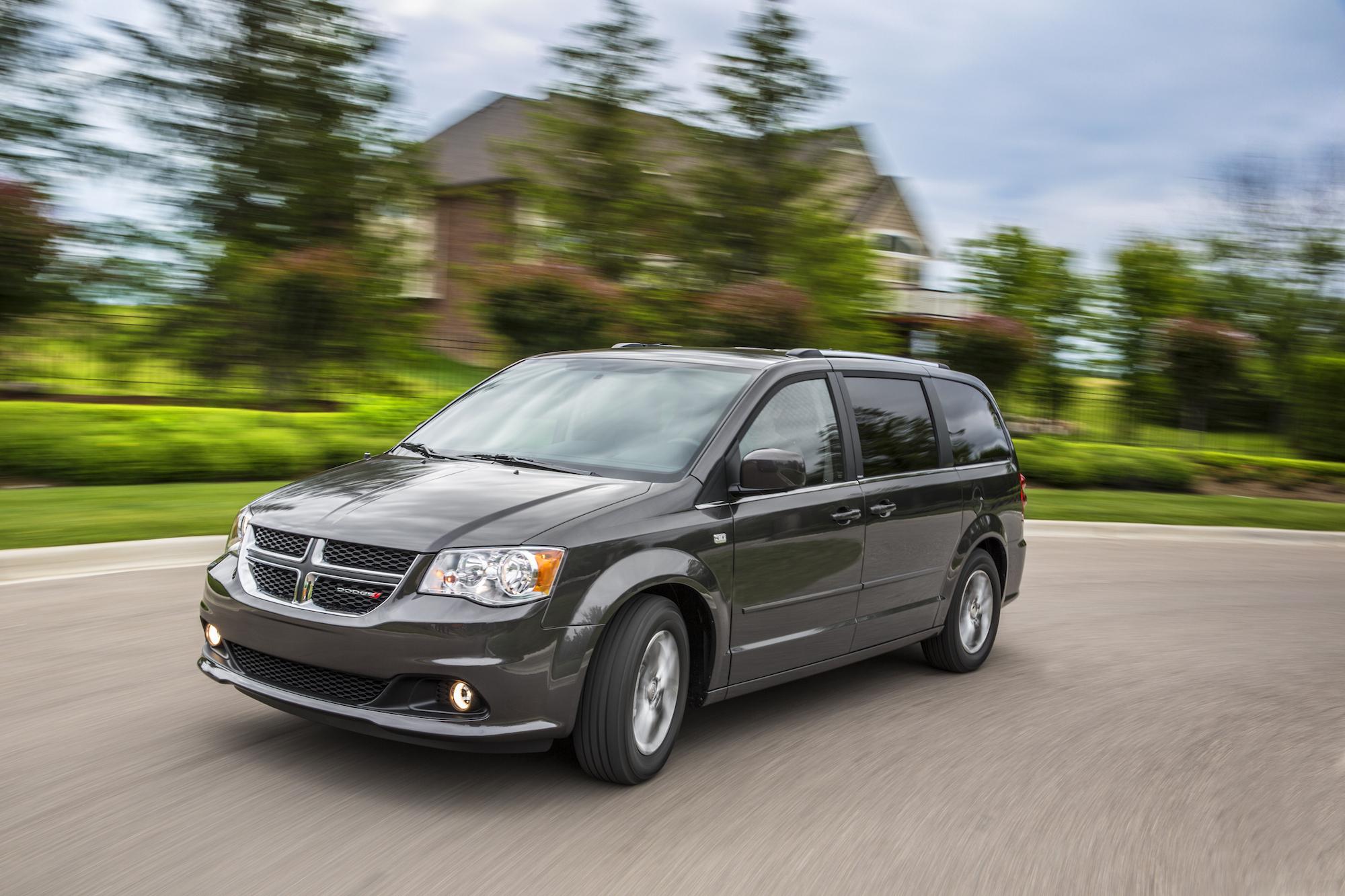 A Dodge Grand Caravan from Fiat Chrysler Automobiles