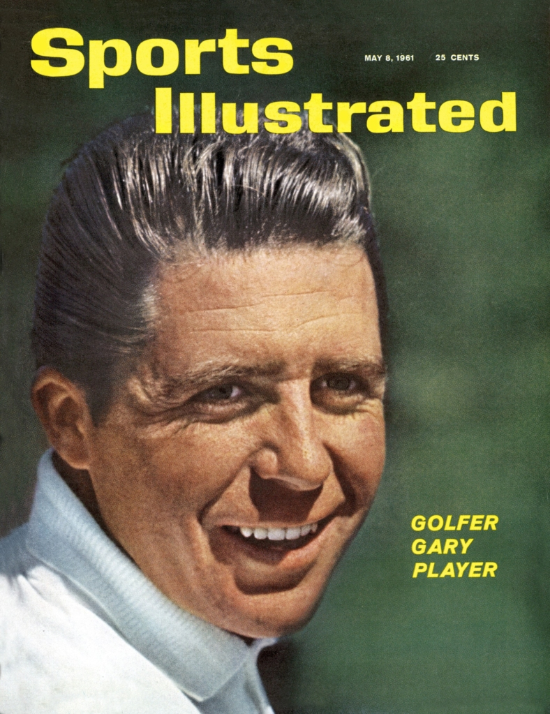 Gary Player, 1961 Sports Illustrated cover
